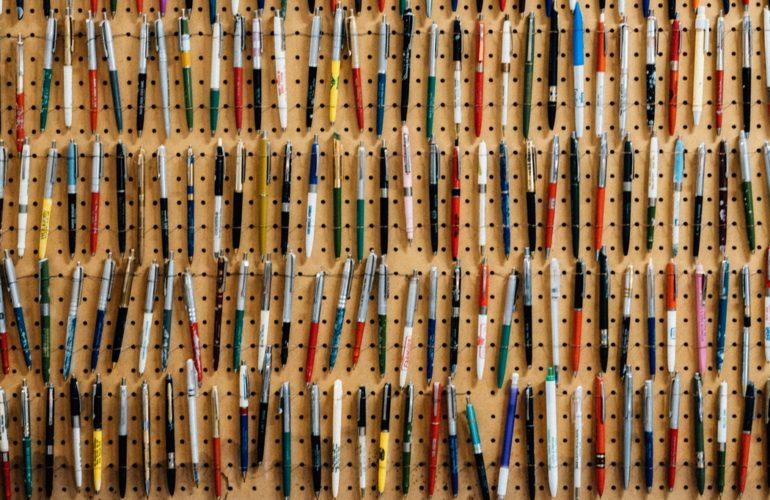 Inventory pencils
