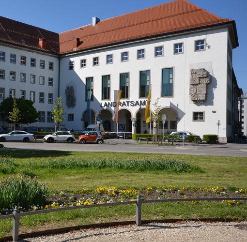 Landsratsamtsgebäude in Augsburg