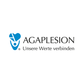 Agaplesion Logo - Referenzpartner von Deskcenter