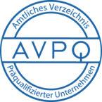 AVPQ Auszeichnung