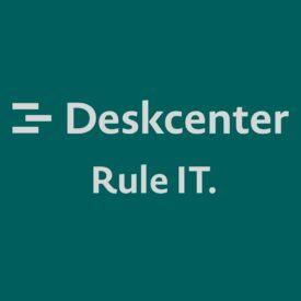 new Deskcenter logo and slogan
