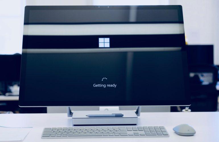 Windows Updates in progress