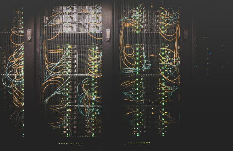 Ansicht eines Servers