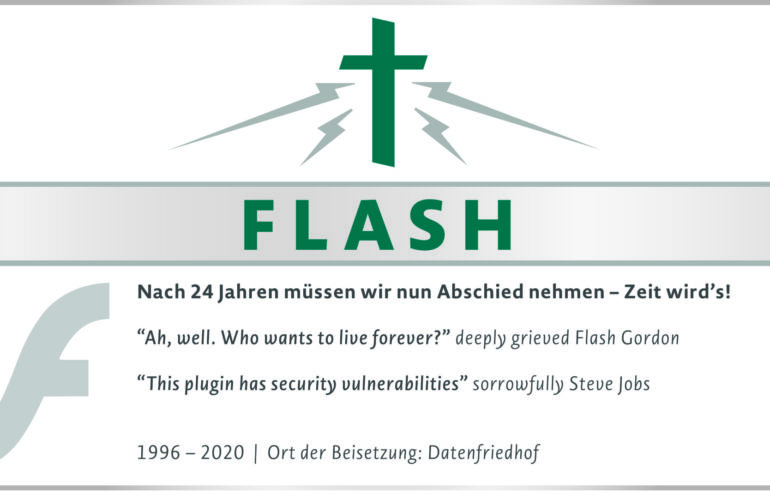 R.I.P. Flash Player