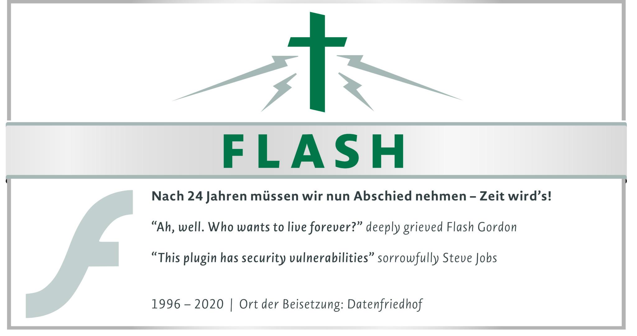 R.I.P. Flash Player