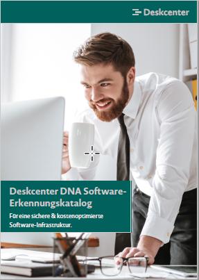 Titelbild Broschüre DNA Software Erkennungskatalog